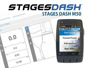 STAGES DASH M50基本設定方法