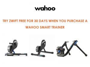 Wahoo スマートトレーナーご購入でZwift 30日間無料キャンペーン!
