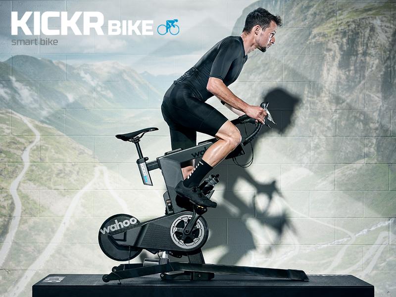 新製品情報!究極のインドアトレーニングを可能にするスマートバイク!Wahoo (ワフー)KICKR BIKE登場