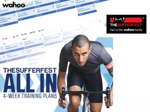 Wahoo【THE SUFFERFEST】プラス30日無料!『4-WEEK ALL INトレーニングプラン』登場!
