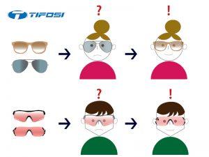 TIFOSI (ティフォージ)ご試着返品送料無料サービスについて