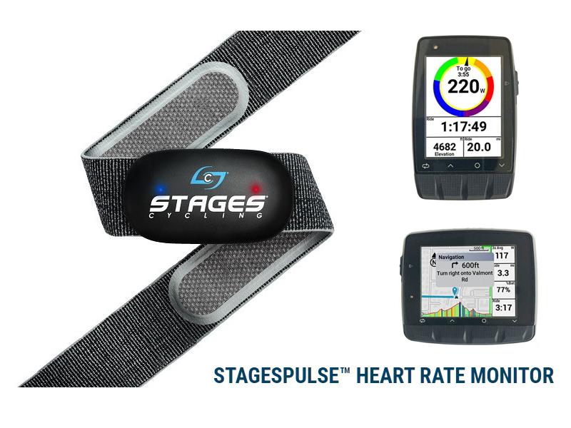 終了:【8/31まで】Stages DASH M50/L50をご購入の方に「STAGESPULSE」ハートレートモニタープレゼント!!