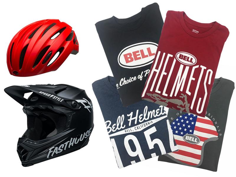 【自転車通勤応援企画】只今BELLヘルメット【ROAD】/【MOUNTAIN】(※特価品対象外)をご購入の方にオリジナルTシャツをプレゼント!!