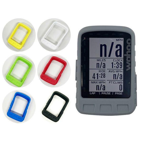Wahoo ELEMNT ROAM GPS(ワフー エレメントローム) サイクルコンピュータ用 シリコンケース/シリコンカバー 【保護フィルム付き】